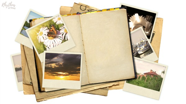 nature journal with pictures of nature