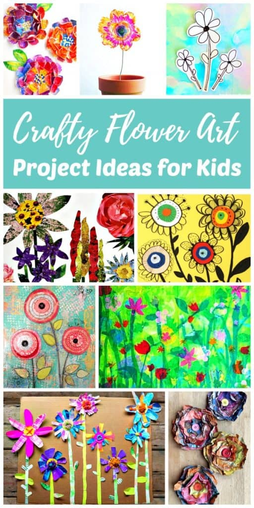 Flower art and craft ideas for kids