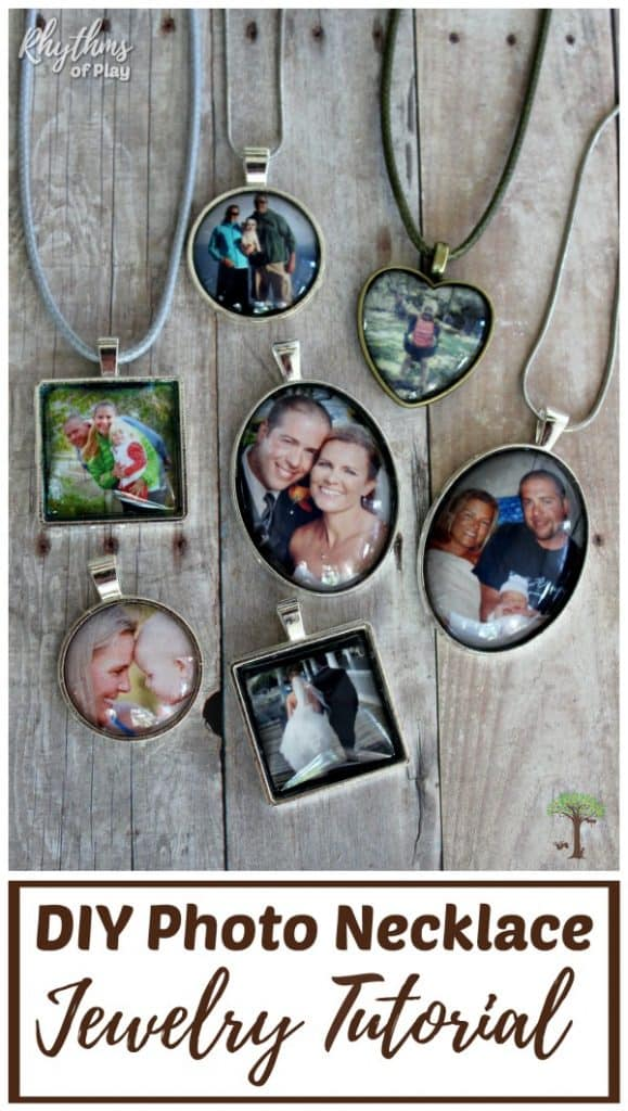 How to make photo necklaces