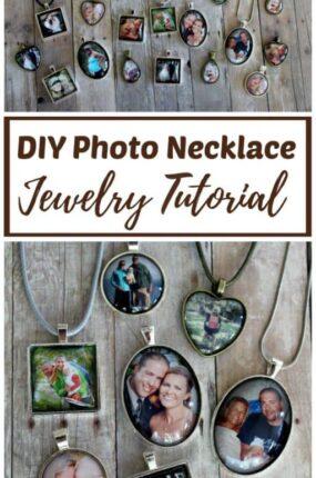 DIY Photo Necklace Tutorial
