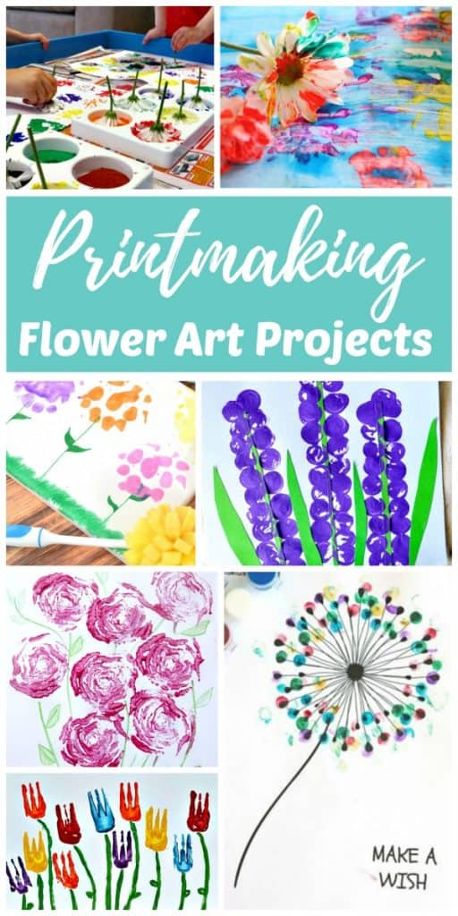 Flower Art Printmaking Projects