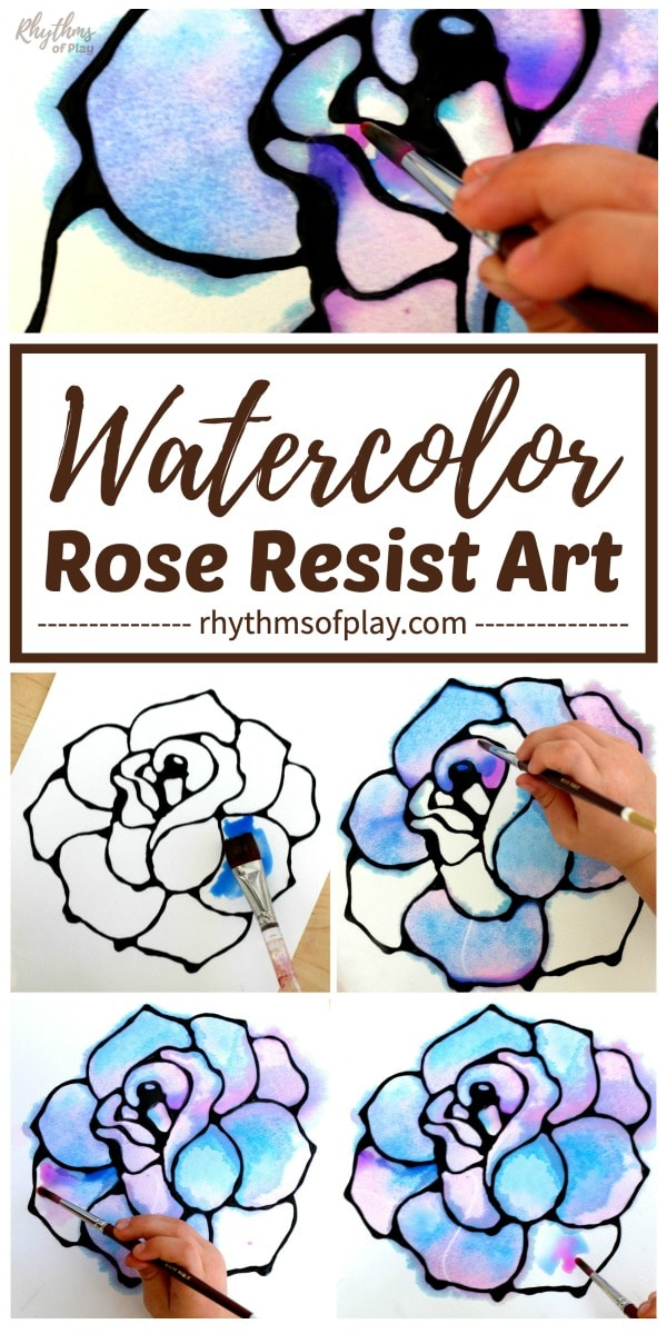 how to paint a rose watercolor painting step by step photo tutorial