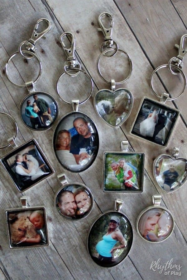DIY Photo Keychains