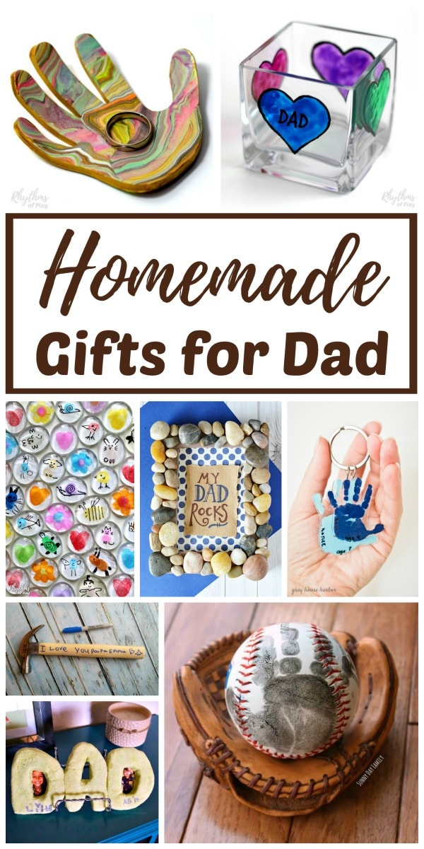 Cool Christmas Gift For Dad.Homemade Gifts For Dad From Kids Rhythms Of Play