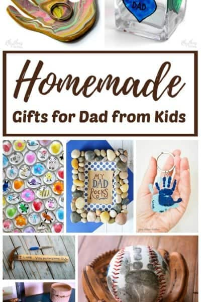 Easy Homemade Gifts for Dad from Kids