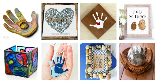 Homemade Father S Day Gifts For Dad From Kids Rhythms Of Play