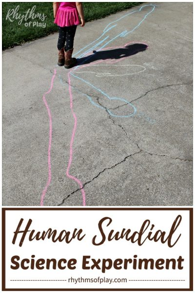 human sundial outdoor shadow science experiments