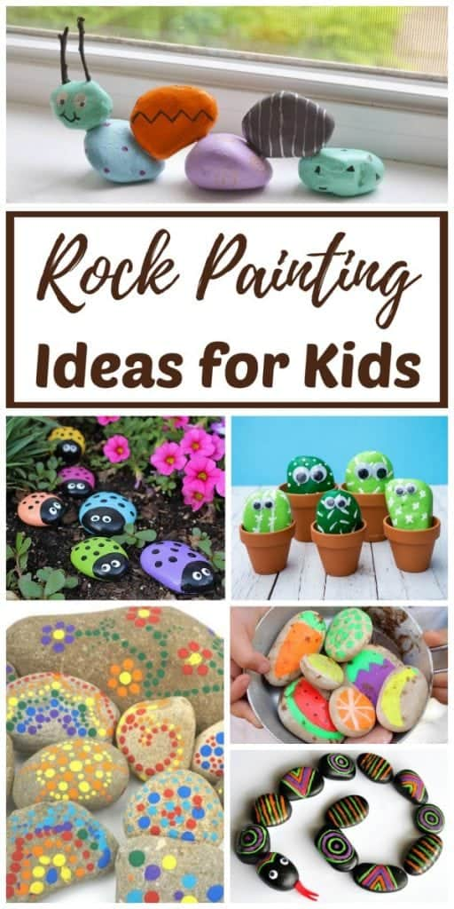 How to Paint Rocks: Rock Painting Ideas for Kids | Rhythms