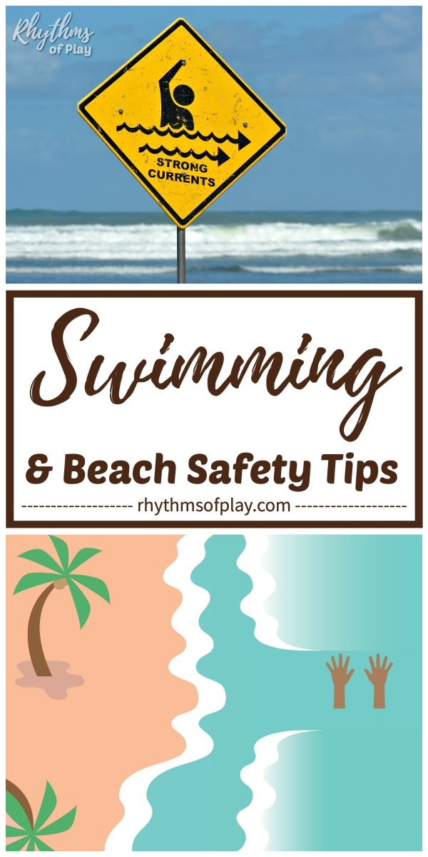 beach and water safety tips for parents and caregivers