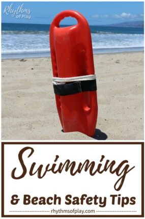 Beach and water safety tips for parents