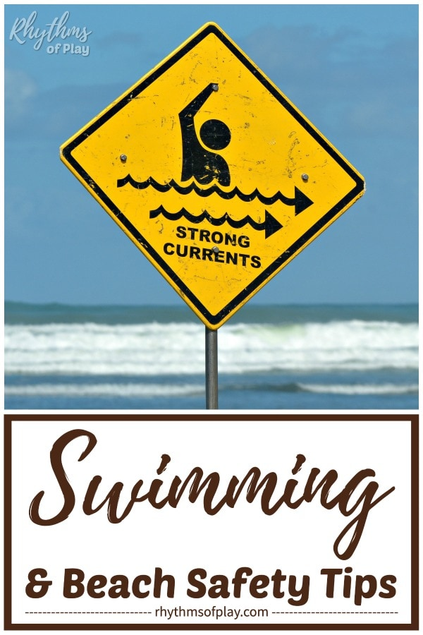 beach and water safety tips - ocean swimming safety