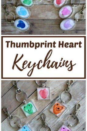 easy fingerprint keychains