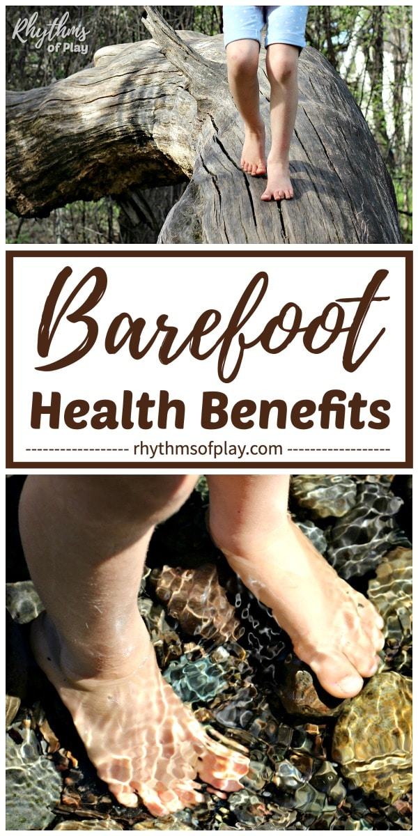walking barefoot outside and the advantages of going barefoot and health benefits of walking barefoot
