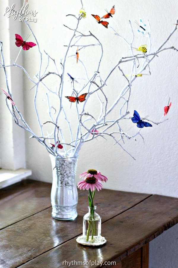 butterfly tree diy home decor