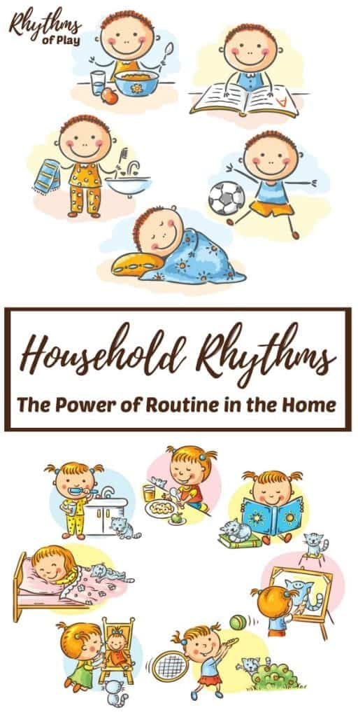 The power of routine in the home.