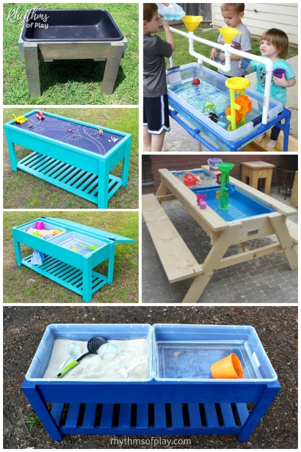 Best sand and water table ideas for kids