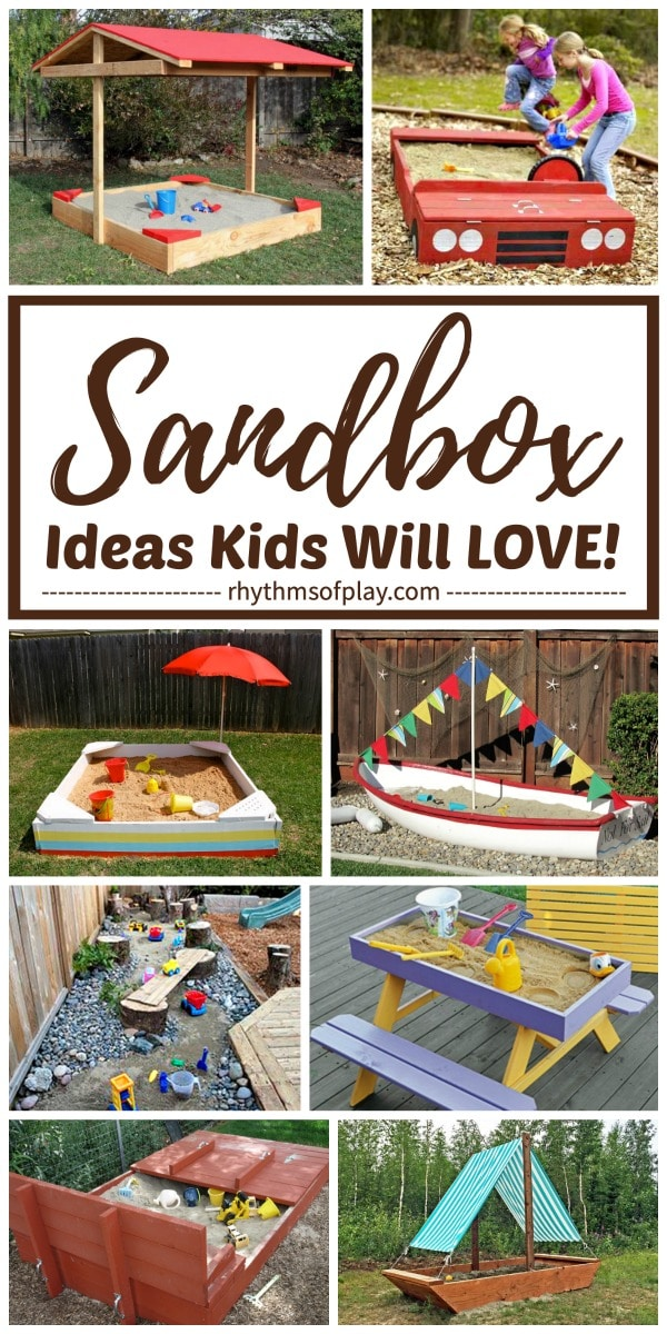 best sandbox ideas for kids
