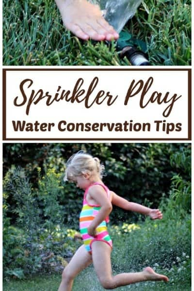 Sprinkler Play Water Conservation Tips for Summer