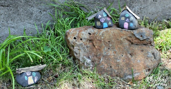 DIY fairy house - fairy garden houses in the backyard