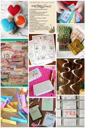Gratitude activities, and gratitude crafts for kids