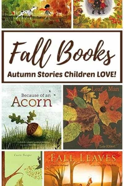 Autumn books for kids - Fall stories children LOVE!