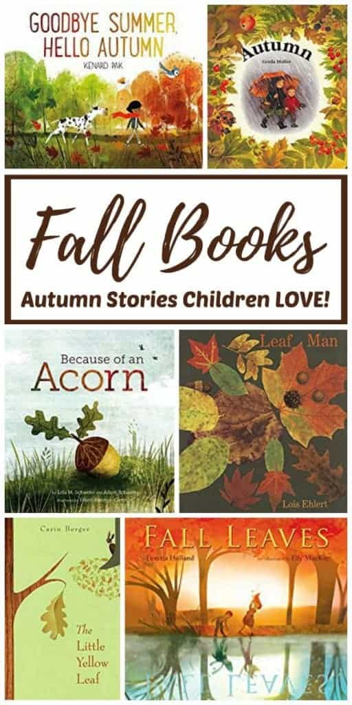 Autumn books for kids - Fall-themed stories for preschoolers that children LOVE!