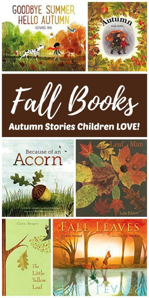 Fall books to read aloud with your children this Autumn!