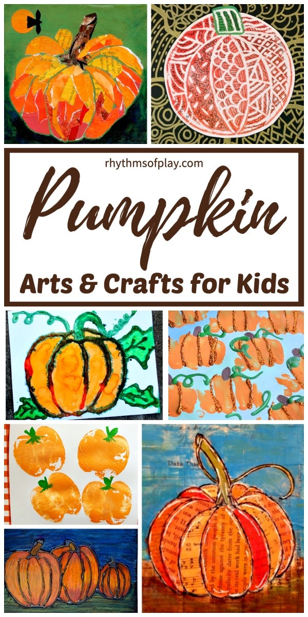 pumpkin art projects: fun pumpkin arts and crafts for kids