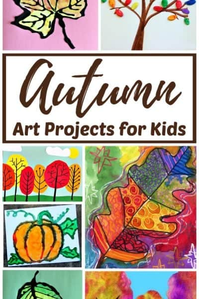 Easy autumn art projects for kids