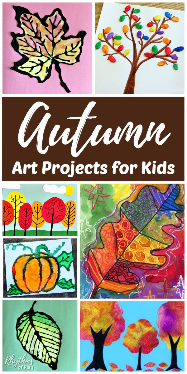the best fall art projects for kids rhythms of play. Black Bedroom Furniture Sets. Home Design Ideas