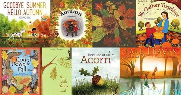 Autumn books for kids - fall stories children love!