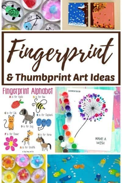 The Best Fingerprint and Thumbprint Art Ideas for Kids