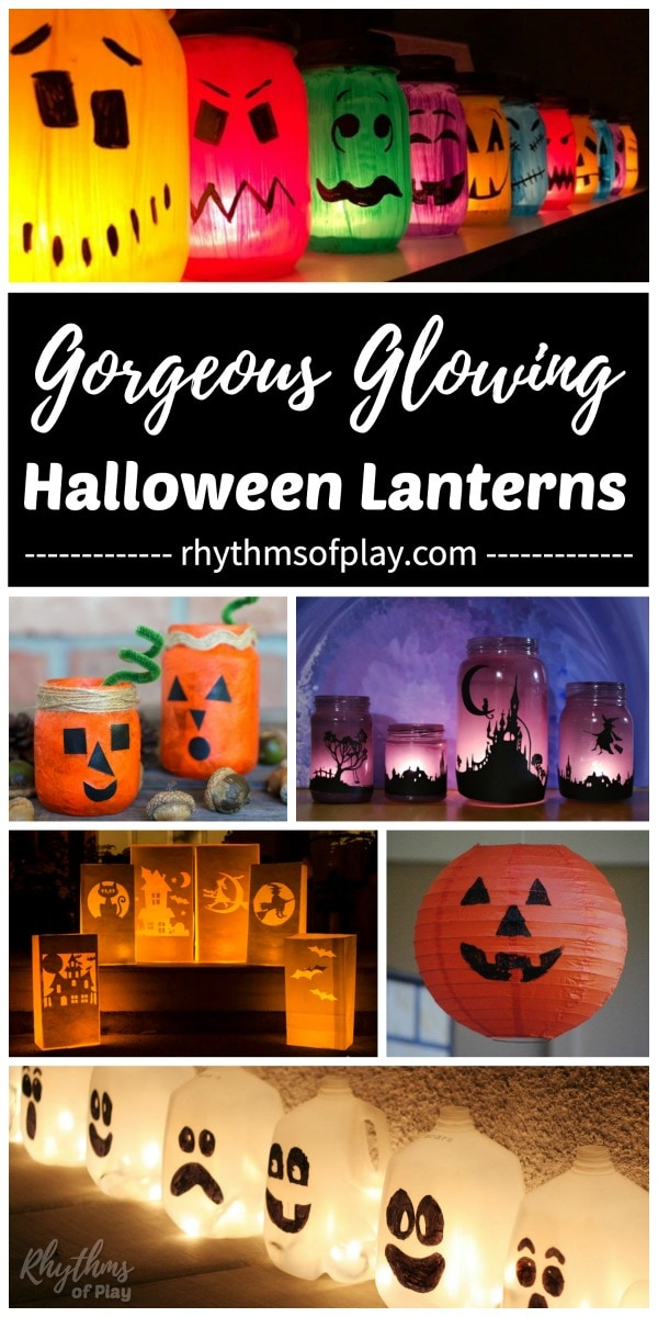 best Halloween lanterns and luminaries for your DIY Halloween decor