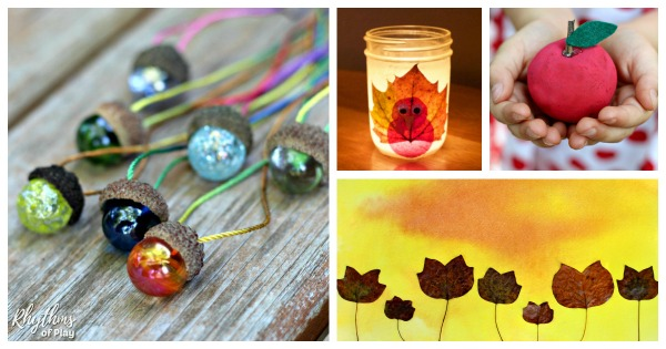 Nature Crafts And Nature Art Activities That Use Natural Materials