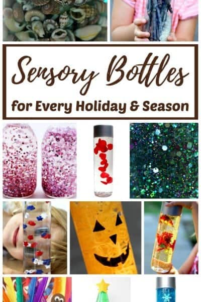 The best sensory bottle recipe ideas for every holiday and season!