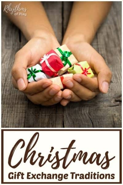 Christmas gift exchange ideas and gift giving traditions