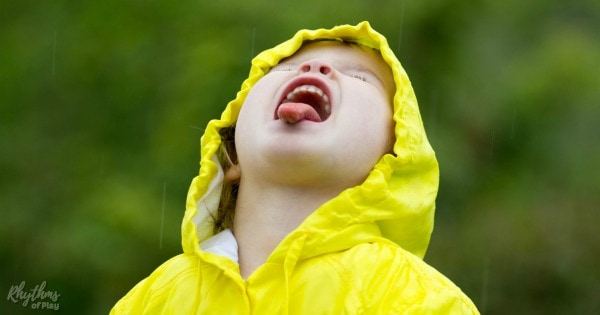 Things to do in the rain outside for kids and families
