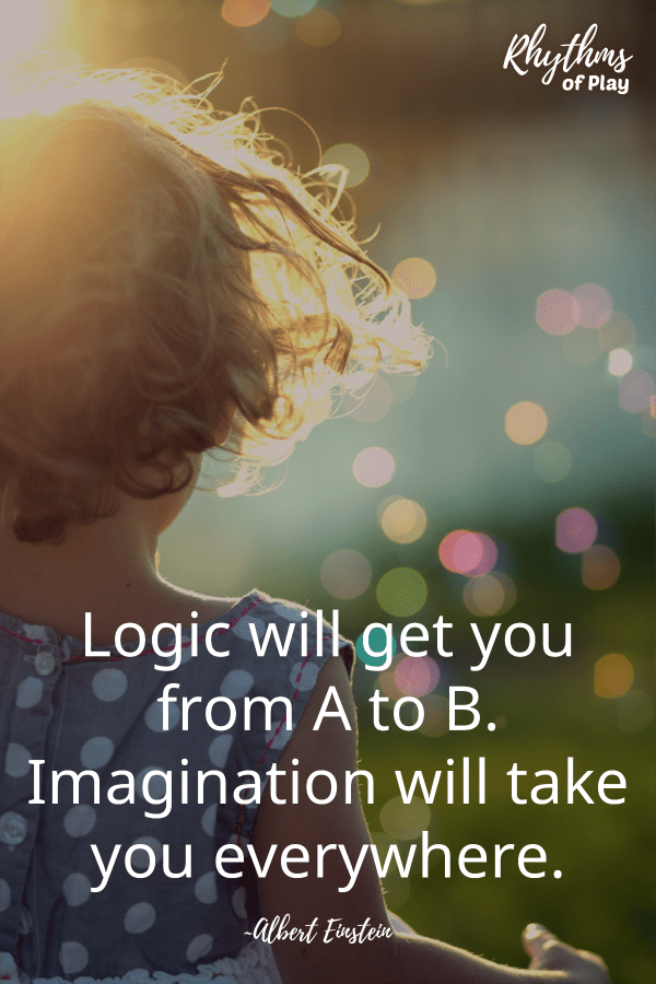 "Best fairy tales - ""Logic will get you from A to B. Imagination will take you everywhere."""