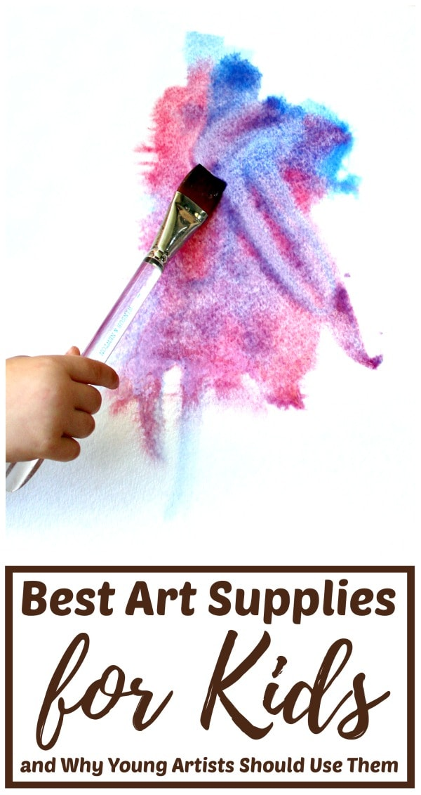 High quality art materials for children from toddlers to teens.
