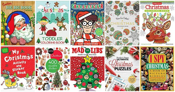 Christmas coloring books for adults and children