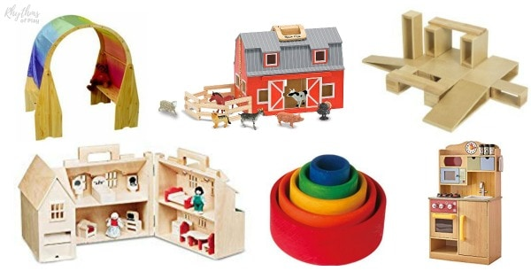 Open ended toys for pretend dramatic play