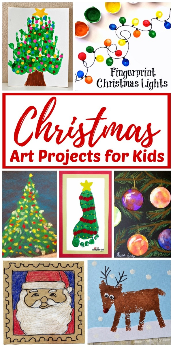 Christmas art ideas for children