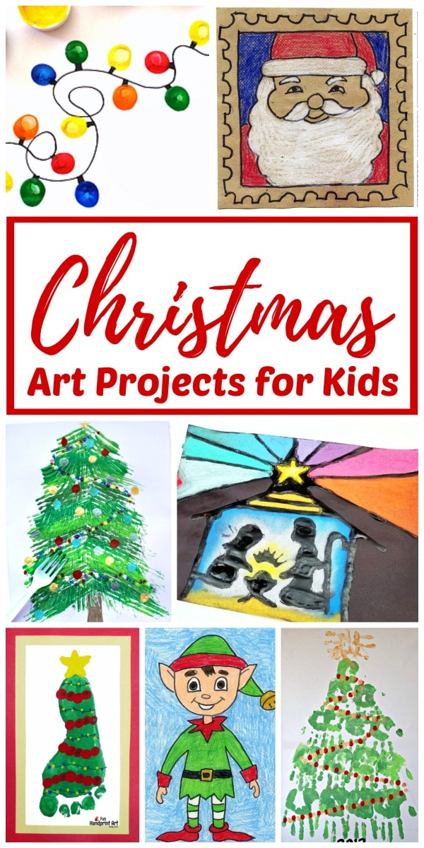 Christmas art project ideas for kids