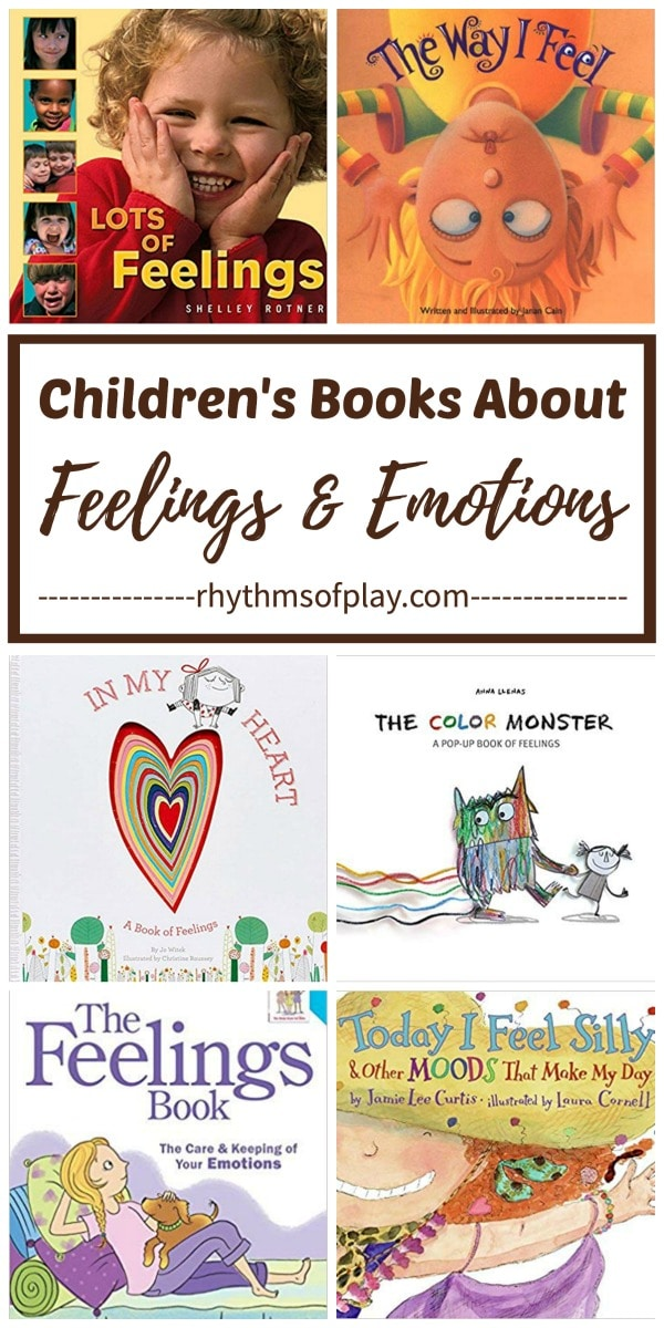 Feelings books for kids