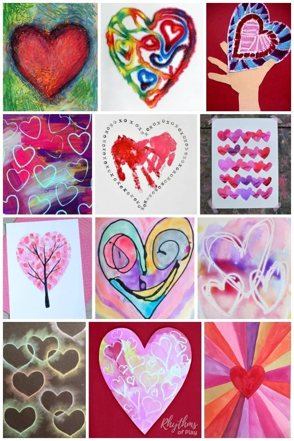 Best Heart Art Projects And Cute Heart Craft Ideas Too Rop