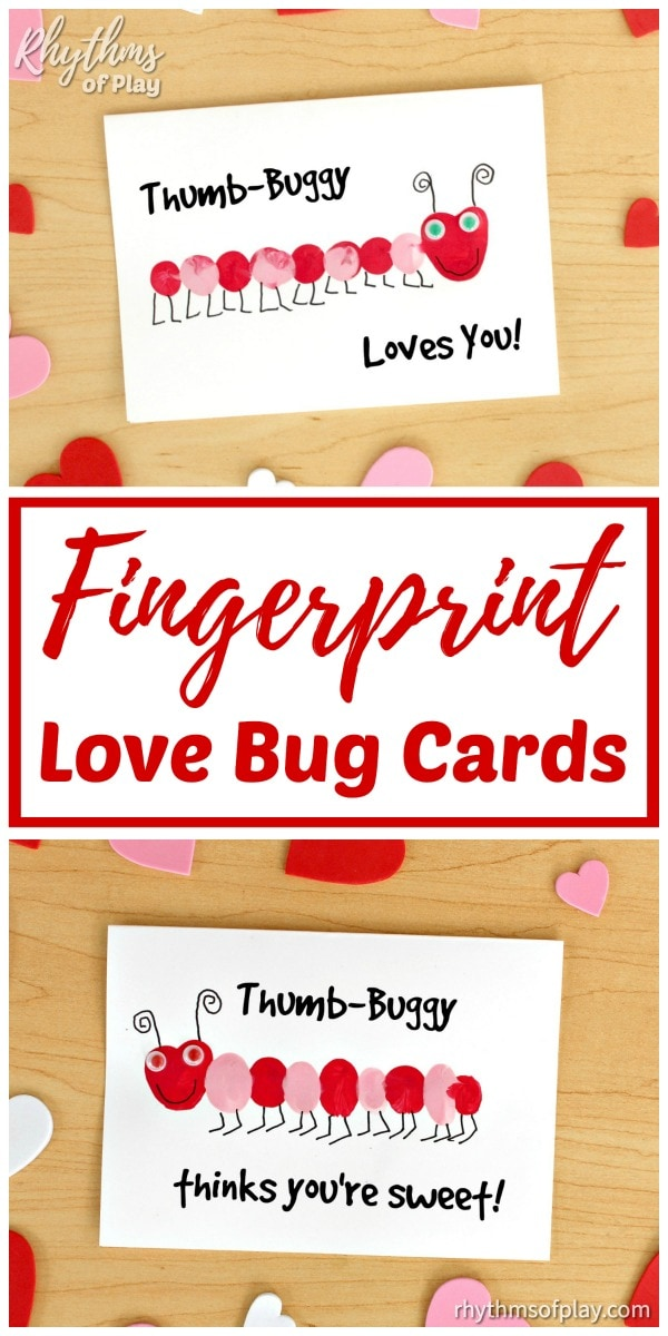 Thumb-buggy loves you and thumb-buggy thinks your sweet love bug card message ideas