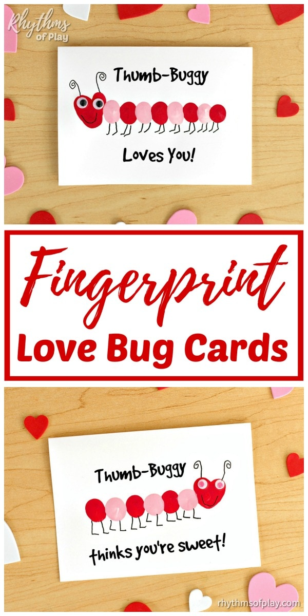 Fingerprint love bugs