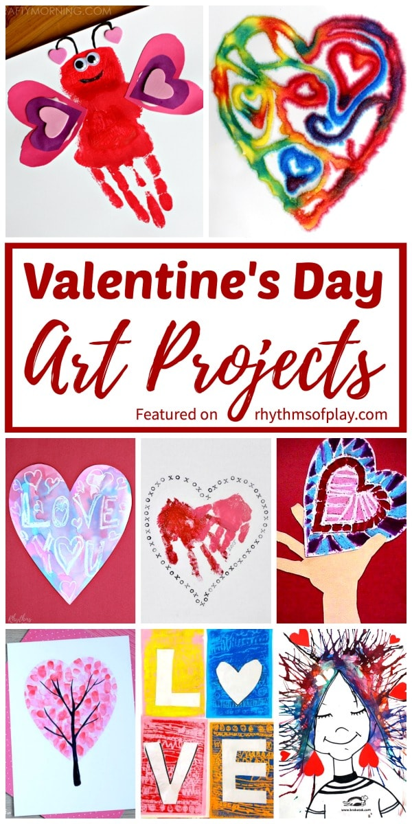 Valentine arts and crafts