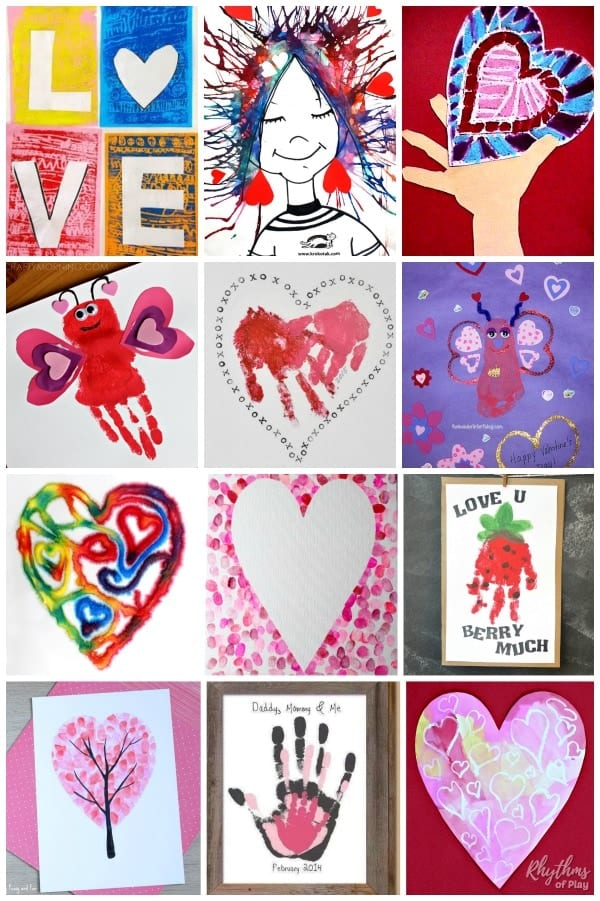 Art projects for Valentine's Day