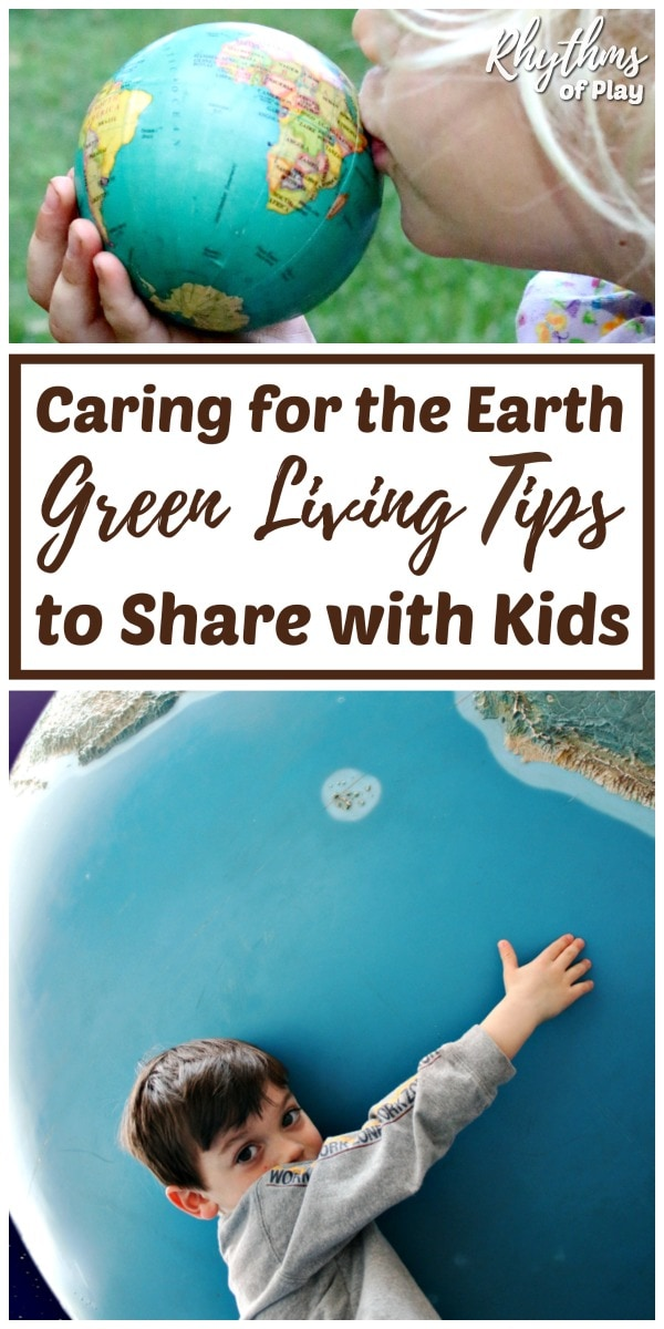 Green living tips for children at home and in the classroom